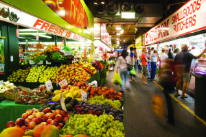 Browse the cities finest array of fresh produce at the Adelaide Central Market.